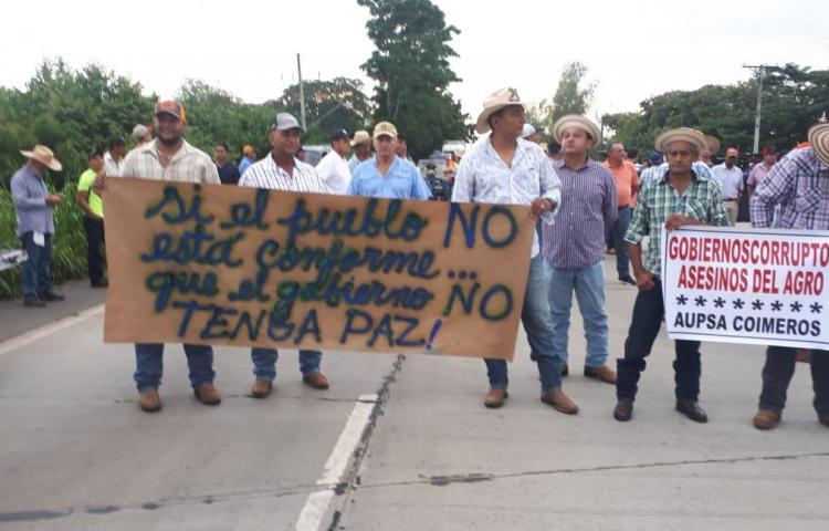 Productores no aguantan más y vuelven a protestar