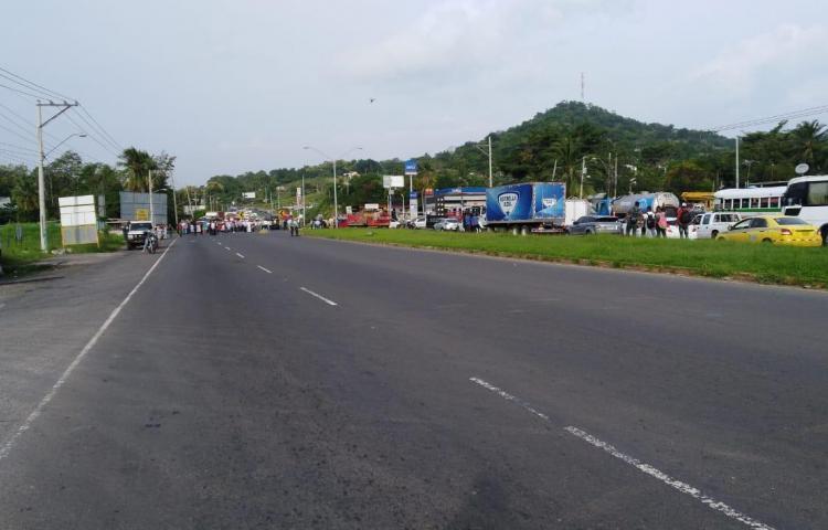 Productores en La Chorrera se unen a la protesta nacional por las importaciones