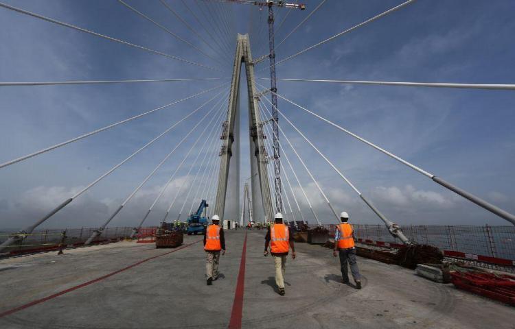 Tercer puente sobre el Canal estará listo en abril de 2019