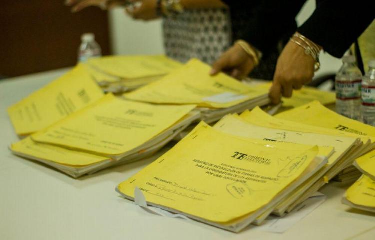 Fiscalía investiga firmas de los independientes