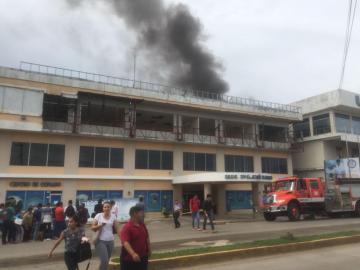 Incendio en la Universidad Latina de Veraguas
