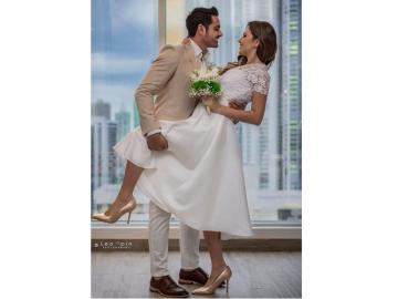 Robin Durán se casó por lo civil con Maricely González