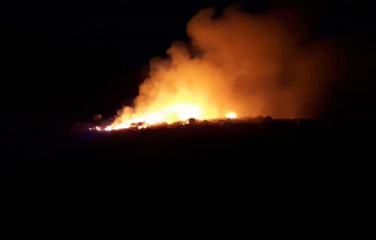 Residentes de Pesé se están ahogando con el humo del vertedero