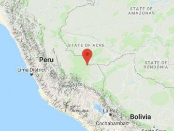 Terremoto de 7 grados en la frontera entre Perú y Brasil