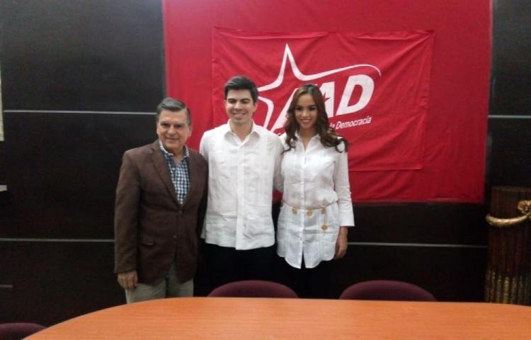 Morales se postula a la Presidencia