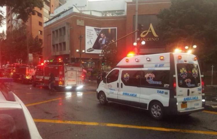 Recapturan a 3 implicados en atentado contra centro comercial de Bogotá