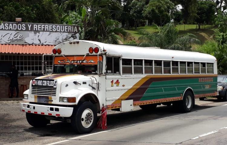 Ladrones que asaltaron bus de Capira son menores de edad, según sospechas