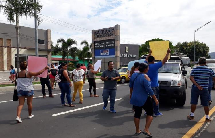 Protestan en Chame para que les entreguen sus casas