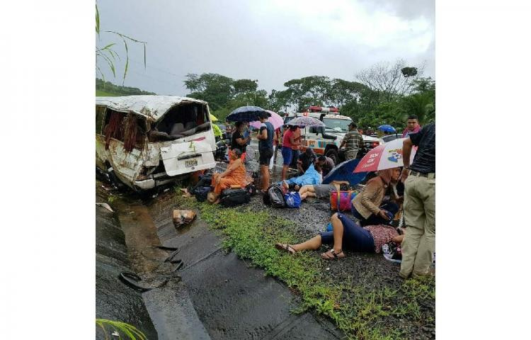 Chofer involucrado en accidente en Remedios quedó libre