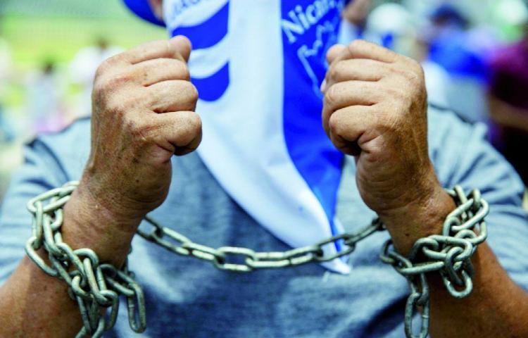 Carrera-protesta en contra de Ortega