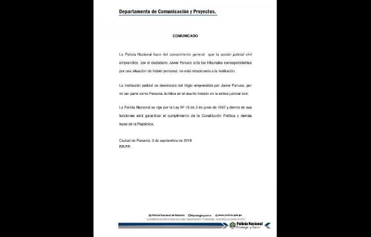 PN se deslinda del caso de Fanuco