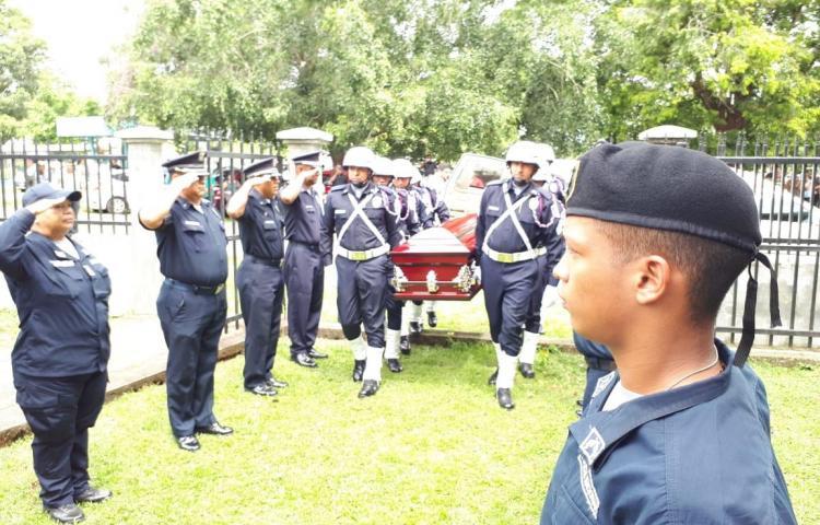 Despiden a policía que murió en accidente en Chiriquí