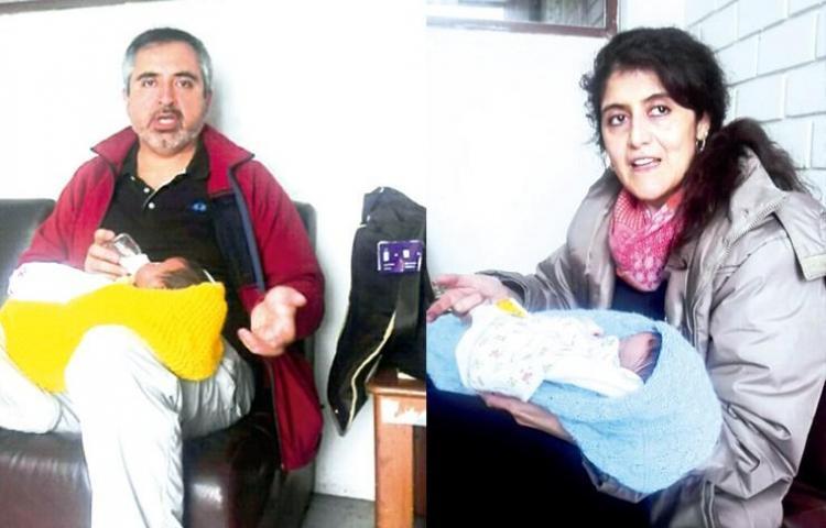 Ordenan liberar pareja chilena detenida en Perú por caso vientre de alquiler