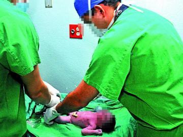 Cada 9 minutos nace un bebé