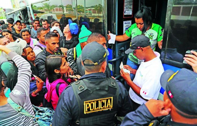 Más de 180 migrantes regresan a Venezuela