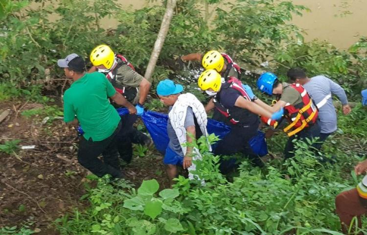 Hallaron el cuerpo de Jesús en río El Potrero