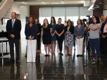 Embajada de los Estados Unidos recuerda a los caídos del 11 de septiembre
