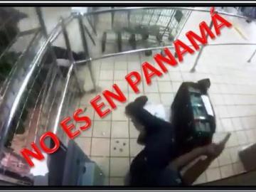 Supermercado local aclara que video de supuesto asalto no fue en su tienda