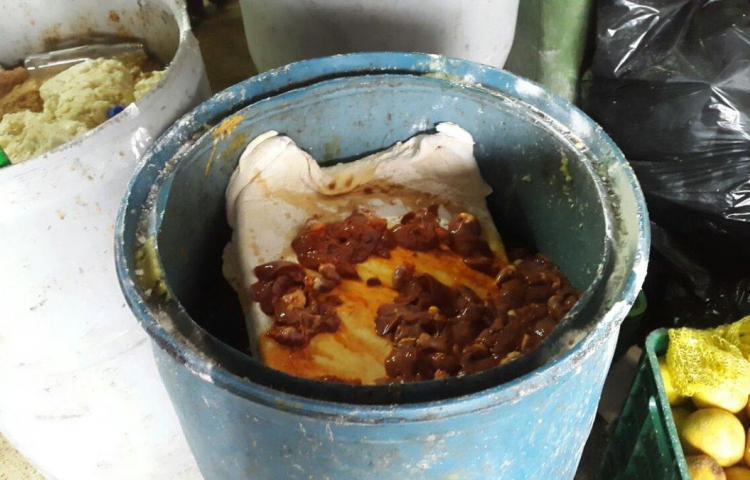 Minsa encontró cochinadas en operativo en Curundú