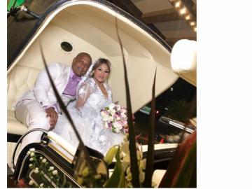 Así fue la boda de una de las 'máximas' de los salones de belleza en Panamá