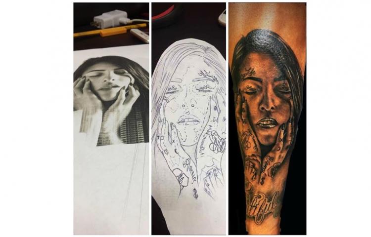 Jacky Guzmán quiere conocer a chico que se tatuó su rostro en el brazo