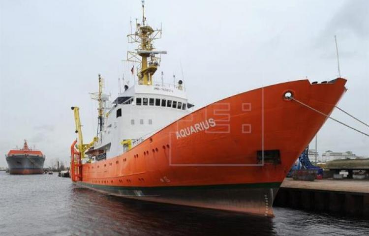 Panamá cancelará registro al Aquarius 2 que rescató migrantes en Mediterráneo