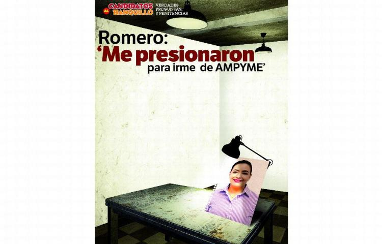 'Me presionaron para irme de Ampyme', Romero