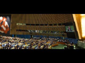 Los líderes mundiales se comprometen con la paz en recuerdo de Nelson Mandela