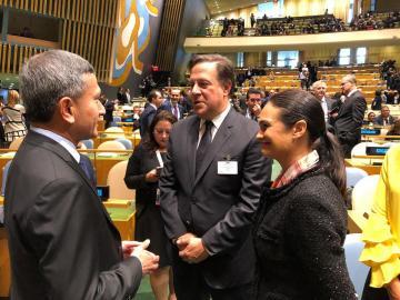 Varela renueva compromiso de Panamá con desarrollo sostenible y la paz