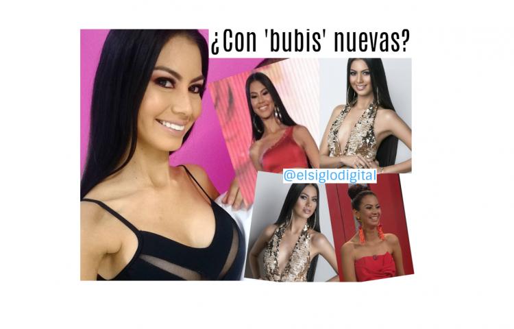 ¿Rosa Montezuma se hizo retoque de 'bubis'?