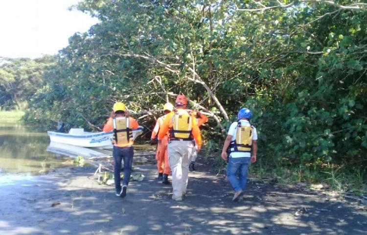 Continúan búsqueda en río Changuinola