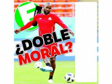 ¿Doble moral?