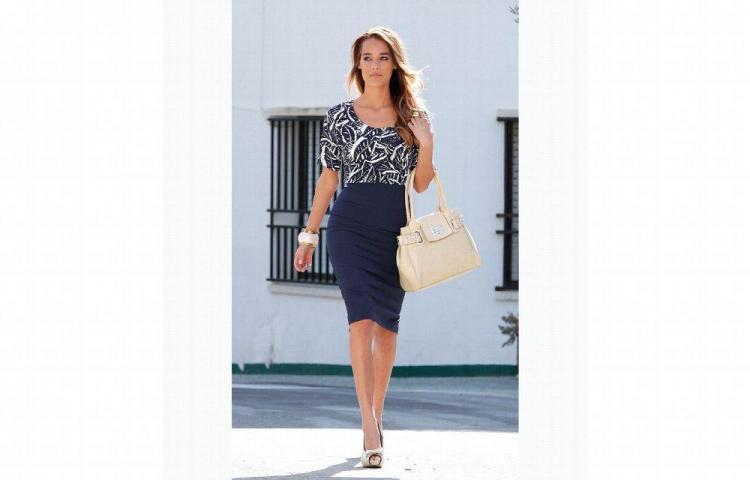d6cb251cf Un paso por la moda, falda a las rodillas - El Siglo
