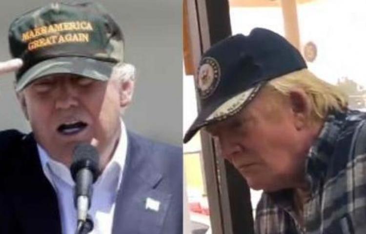 Encuentran al gemelo perdido de Donald Trump