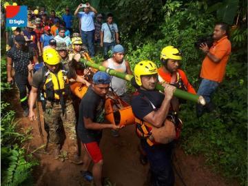 Hallan cadáver la docente que se ahogó junto con tres estudiantes en la comarca