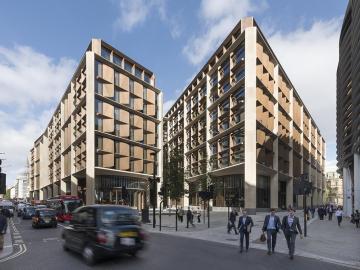 El edificio Bloomberg en Londres gana el premio Stirling de arquitectura