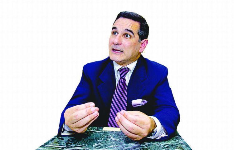 !Basta ya! dice Marco Ameglio, aspirante a la Presidencia