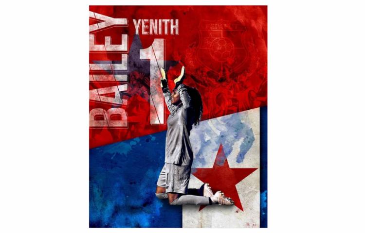 Yenith Bailey, la joven promesa del fútbol femenino panameño