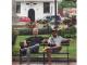 ¡Relajados! Sting y Shaggy por el Casco Antiguo de lo más normal
