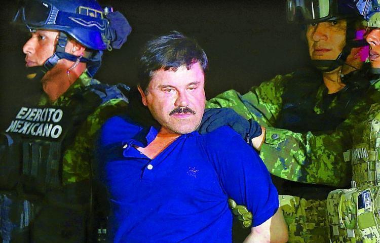 """""""El Chapo"""" se enfrenta a cadena perpetua en juicio con fuertes medidas seguridad"""