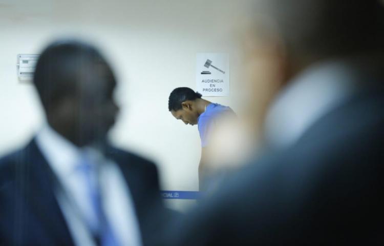 Realizan audiencia a implicados en homicidio e intento de robo en el Banco General