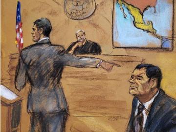 Declara testigo en juicio del 'Chapo'