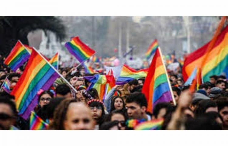 Marchan a favor del matrimonio igualitario
