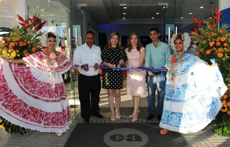Caja de Ahorros inaugura su nueva sucursal en la ciudad de Las Tablas