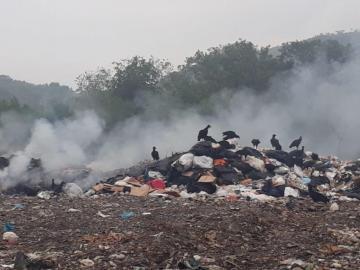 Comunidades viven ahogadas en el humo