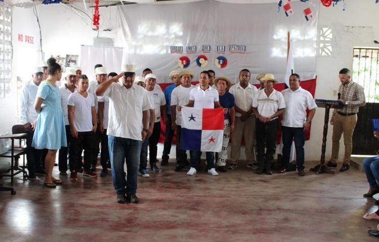 Privados de libertad de Penonomé reviven la separación de Panamá de Colombia