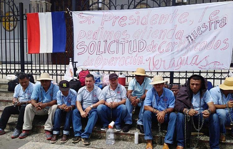 Transportistas veragüenses exigen frenar la 'piratería'