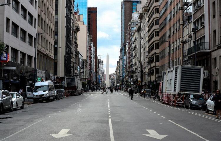 Buenos Aires, la 'ciudad fantasma'