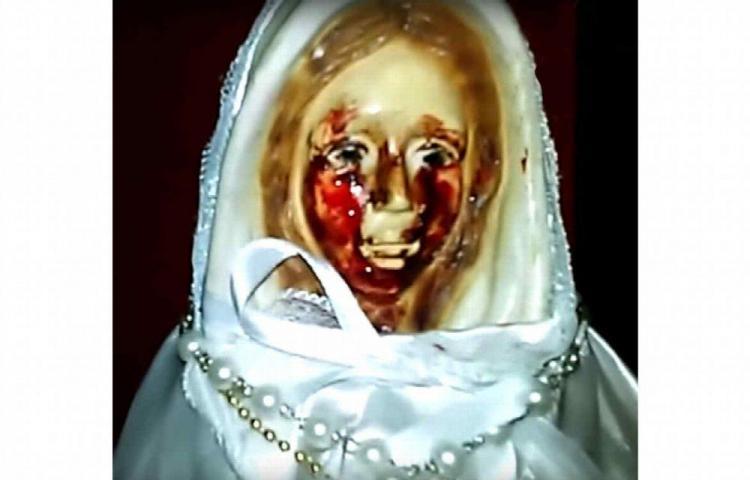 Virgen llora sangre en Argentina