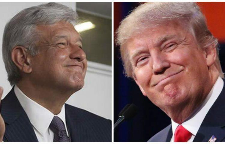 Trump acuerda con López Obrador afrontar la inseguridad en Centroamérica Washington